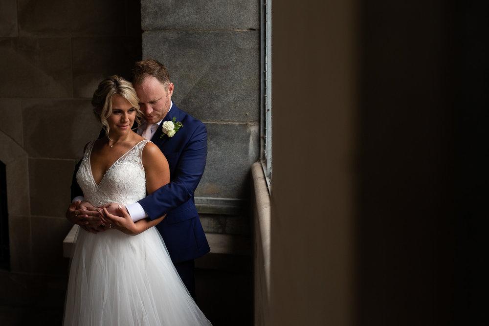 Ottawa wedding photograph near the chateau laurier