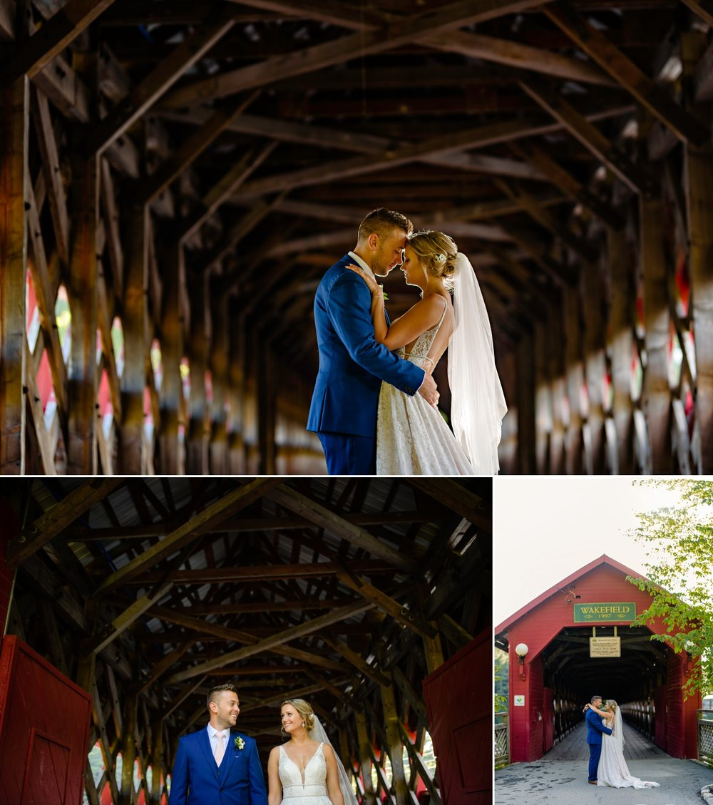 bride and groom portraits at the wakefield covered bride in quebec
