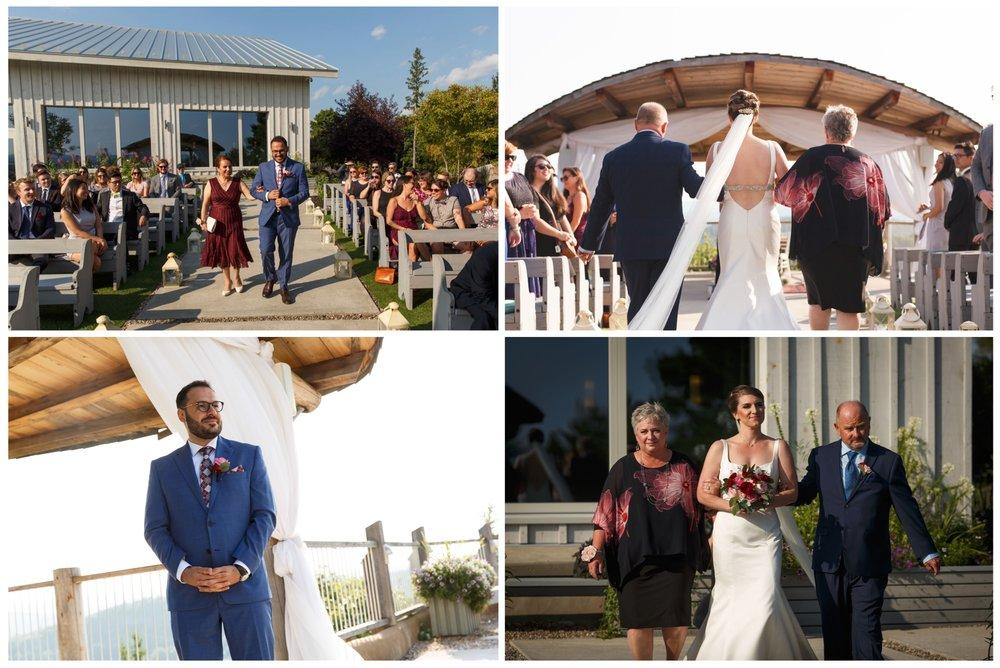 wedding photos at le belvedere