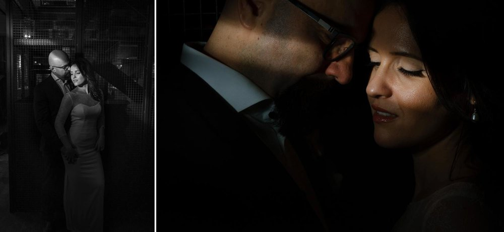 Dark and moody couples photographs