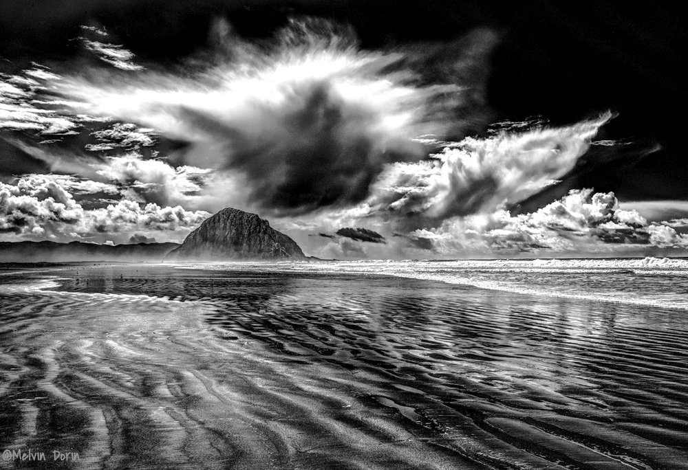 Clearing Storm, Morro Strand