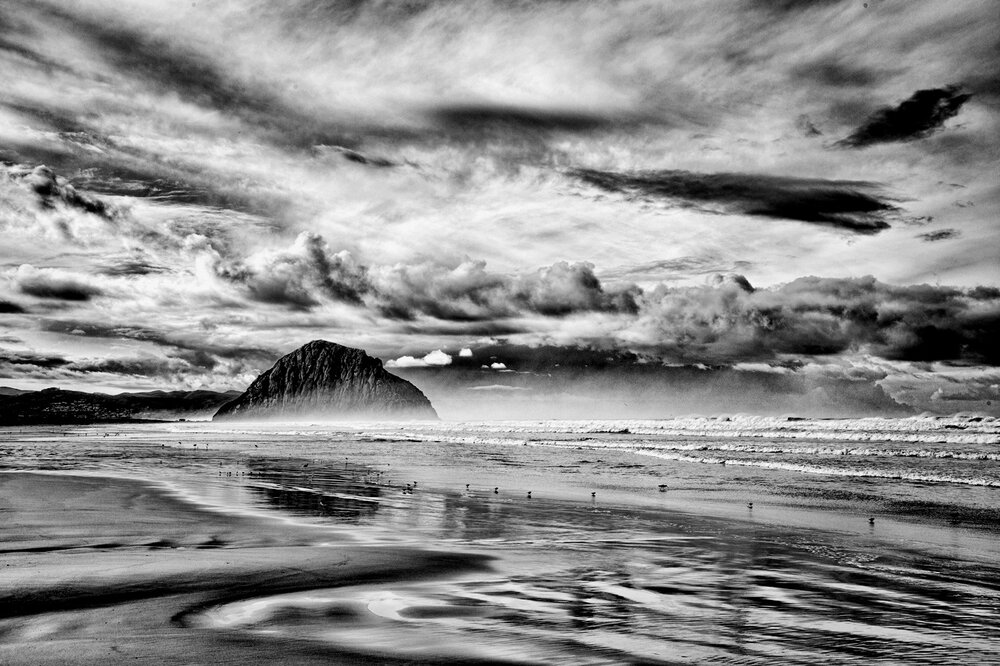 Winter Morning, Morro Strand