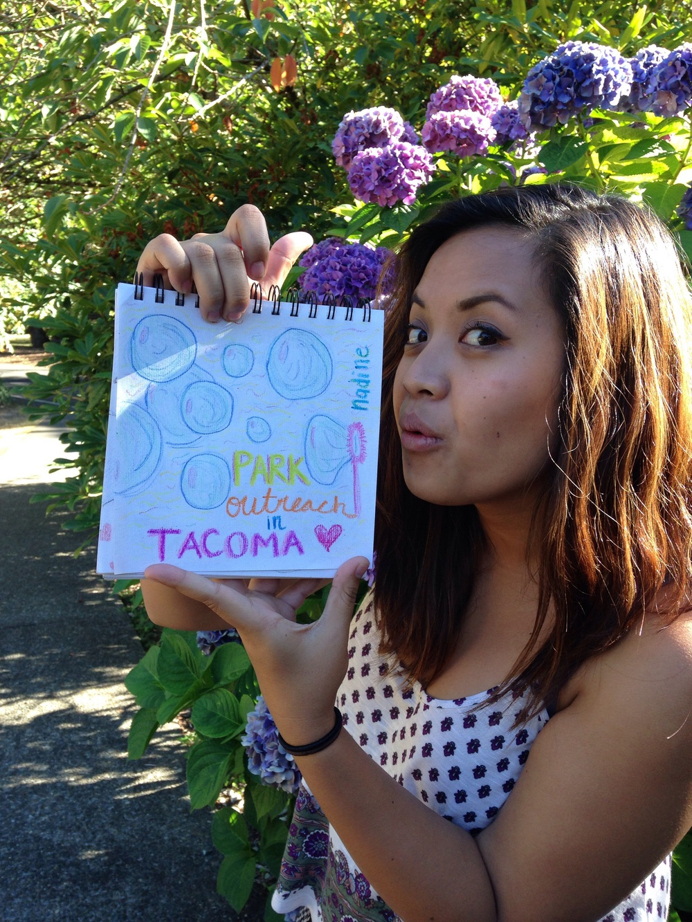 "Nadine Tadeo, chap. ""Park outreach in Tacoma"""