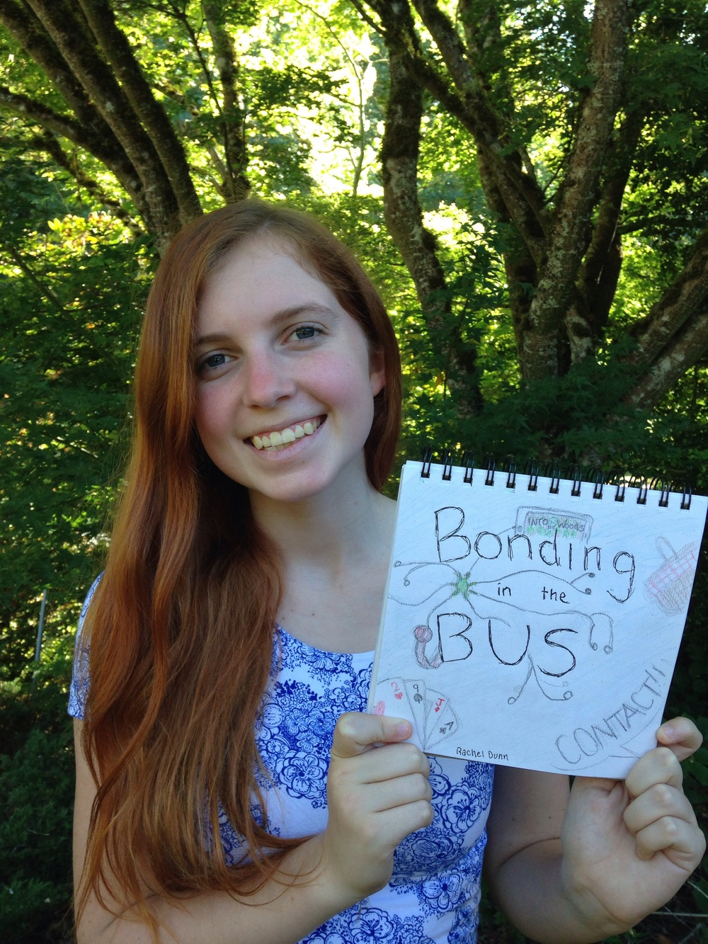"Rachel Dunn, junior. ""Bonding in the bus"""