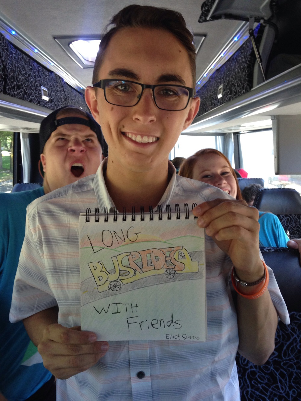 "Elliot Simons, junior. ""Long bus rides with friends"""