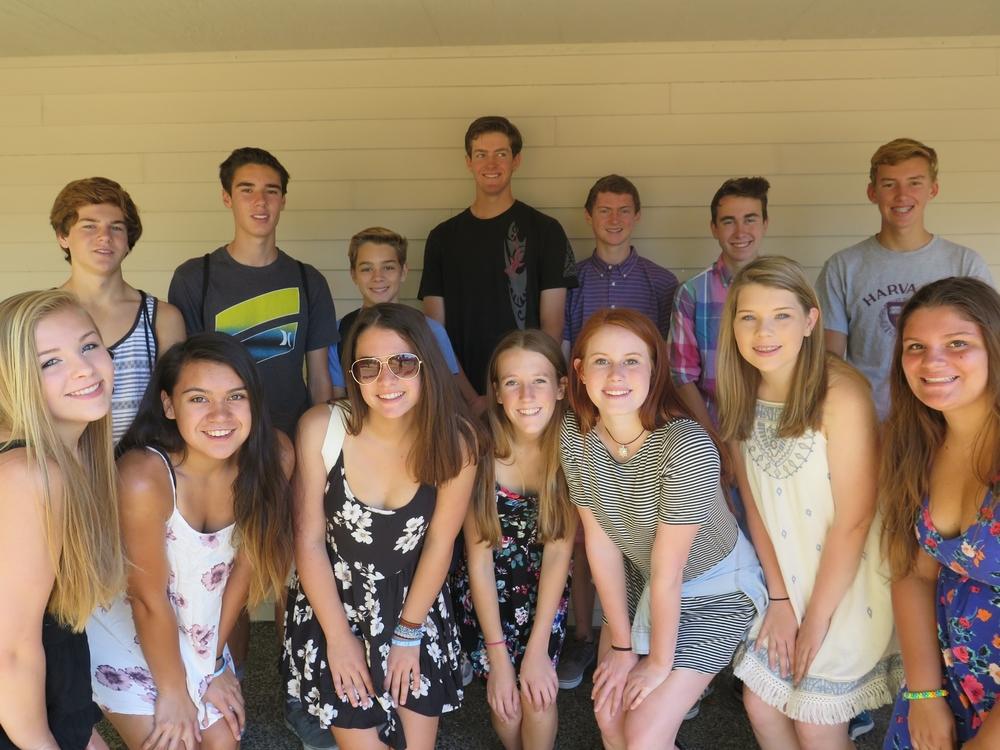 Freshmen Class of 2018