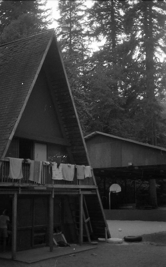 The girls' bunk at Camp Lane