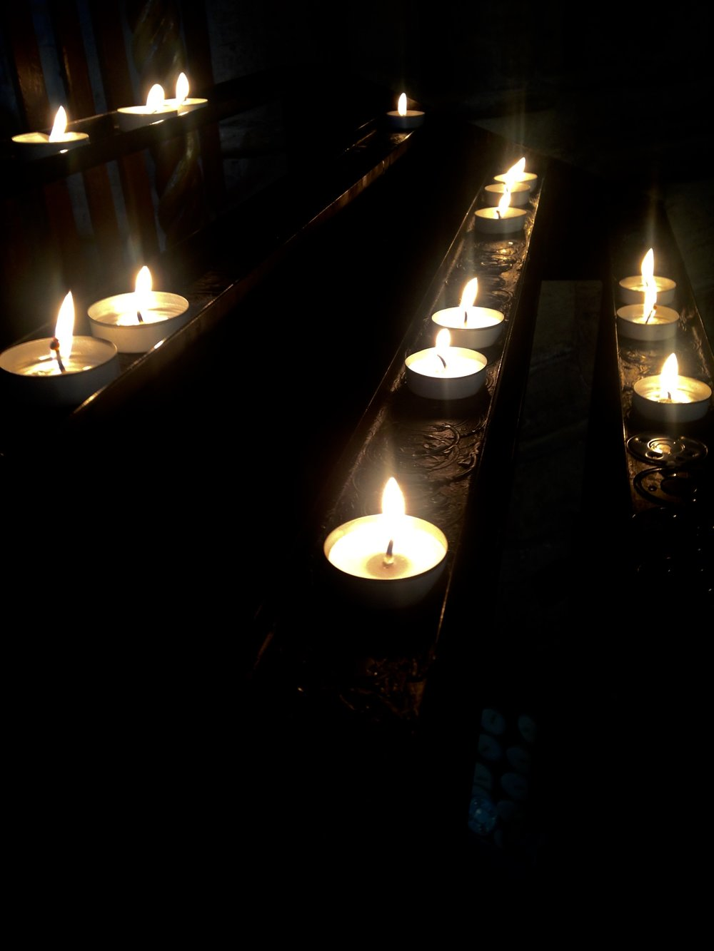 Candles to light and remember...