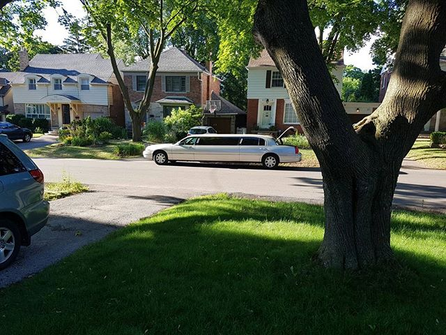 So this is what showwd up when we ordered an airport limo. A little too literal. Fun, though! A great start to our roughing it vacation camping and kayaking out west. :)