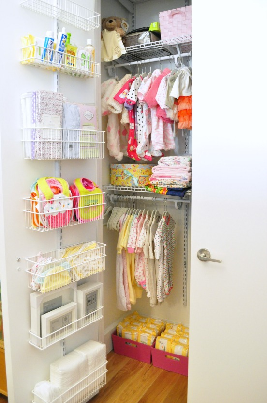 Attractive A Pretty Awesome Baby Closet For My Little Sweet Pea, No? I Wish I Had A  Cost Breakdown For You, But We Ended Up Spending Some Extra ...