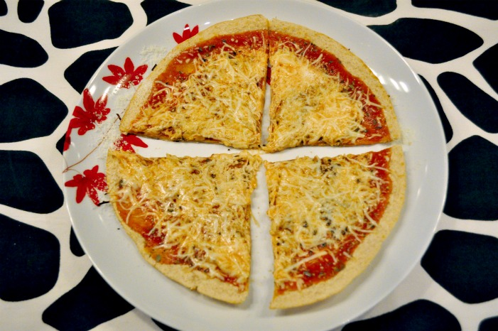 Go-To Dinner: Skillet Tortilla Pizza Redux — the avid appetite