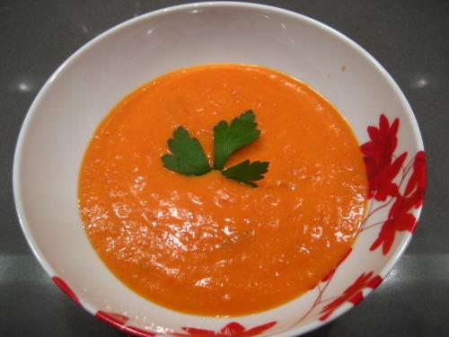 Roasted Tomato Basil Soup — the avid appetite