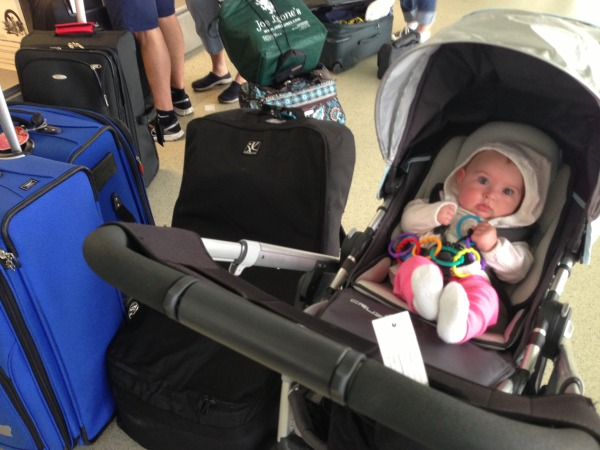 Flying with Baby — the avid appetite