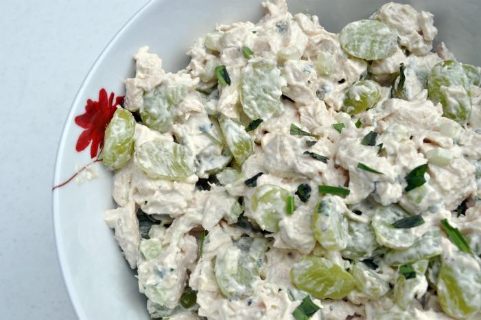 Chicken Veronique Gorgeous Chicken Salad Veronique  The Avid Appetite Review