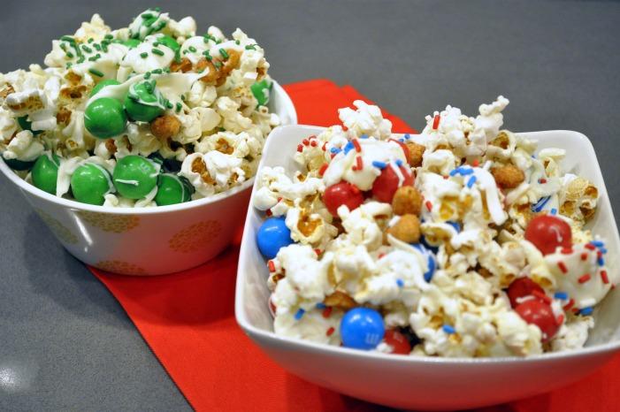 ... Recipe Club: NY Giants & Jets Popcorn Party Mix — the avid appetite