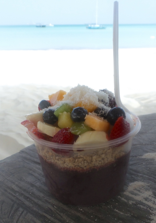 the most beautiful + delicious acai bowl.