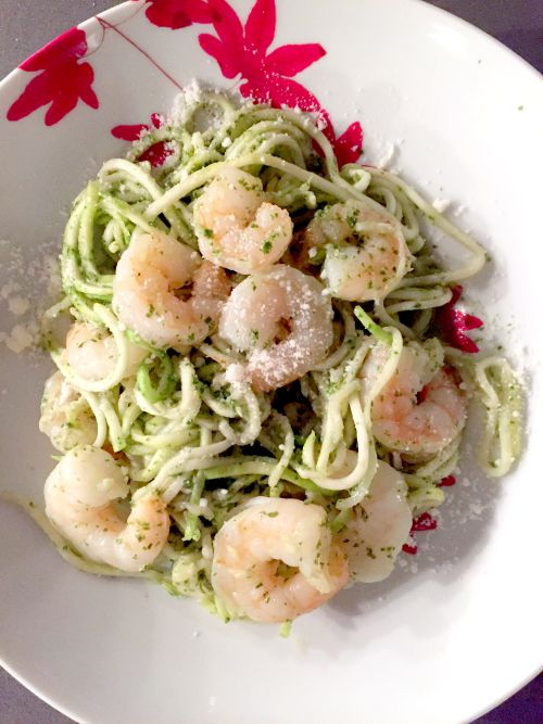 pesto shrimp1