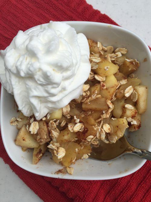 microwave apple crisp2