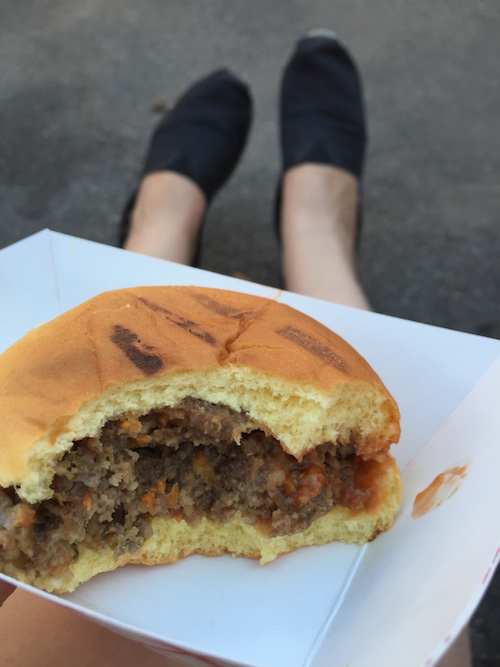 the most amazing meatloaf slider.