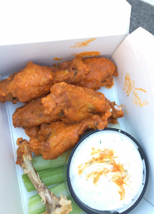 truly delicious wings from wingery.