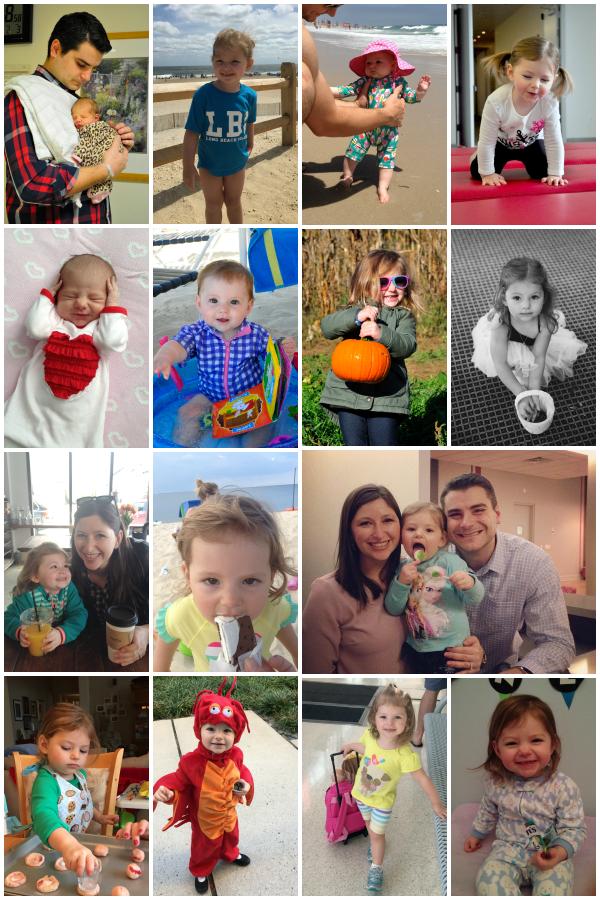 penelope third birthday collage2