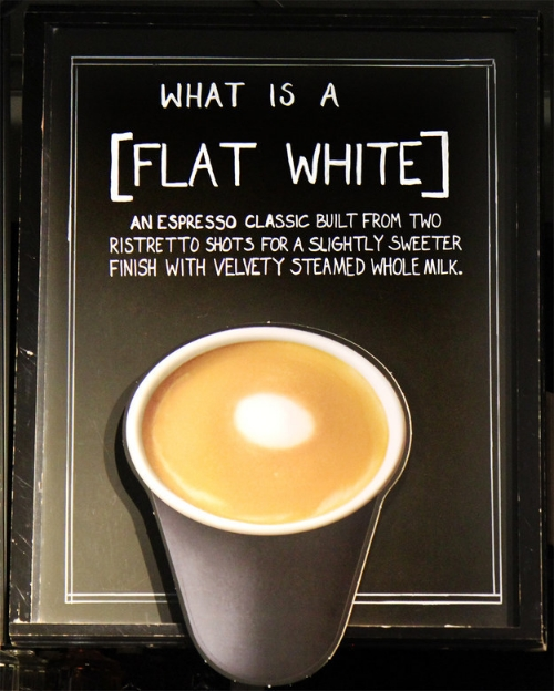 starbucks flat white