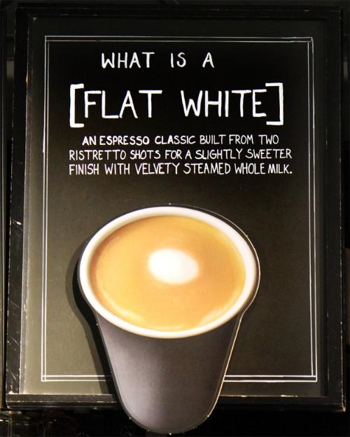 starbucks flat white
