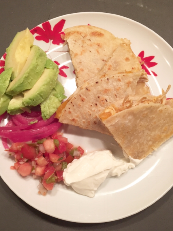 simple quesadillas