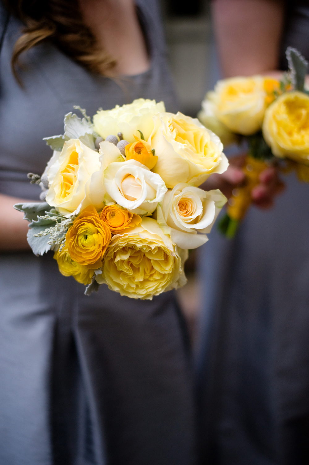 Southern Yellow Wedding Bouquet