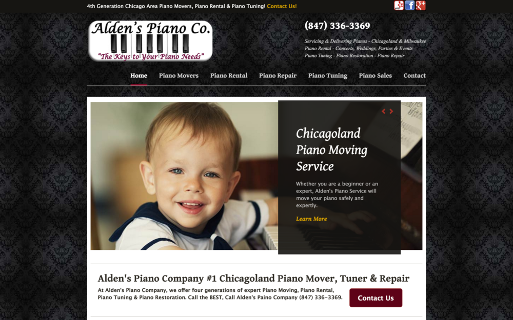 FOUR GENERATIONS  of expert Piano Moving, Piano Rental, Piano Tuning, & Piano Restoration.