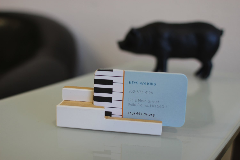 piano key business card holder — keys 44 kids  grand pianos for