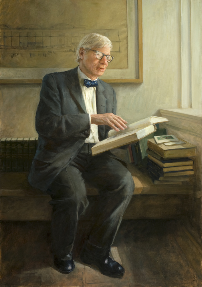 "Louis I. Kahn  , oil on linen, 52"" x 36""  Honorable Mention, Members Showcase, Portrait Society of America, 2011; Collection National Portrait Gallery, Washington, D.C."