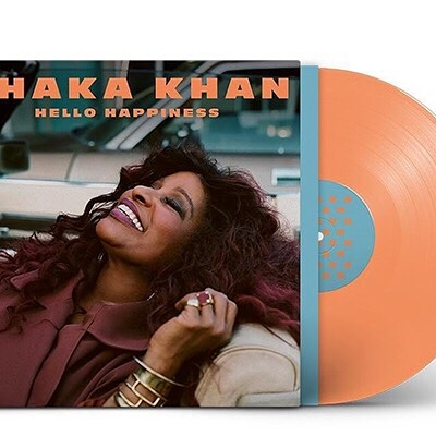 Sometimes you can't even make things up this good. I am beyond elated to have two cuts on a hero's upcoming album #HelloHappiness by @chakaikhan . Chaka is a hardworking queen, a legend, an icon, a golden soul, and a personal hero...and this new album sounds AMAZING! ( if I can say so myself!!) Get ready for this goodness,  preorder #HelloHappiness today on iTunes #likealday #ladylike #outsoon #newmusic #hellohappiness - (Link in profile https://chakakhan.lnk.to/HHUS ) ✨ Thank you, Jerome 💛