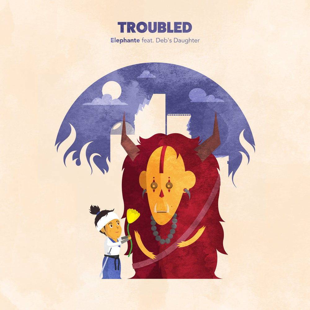 TROUBLED + REMIXES -