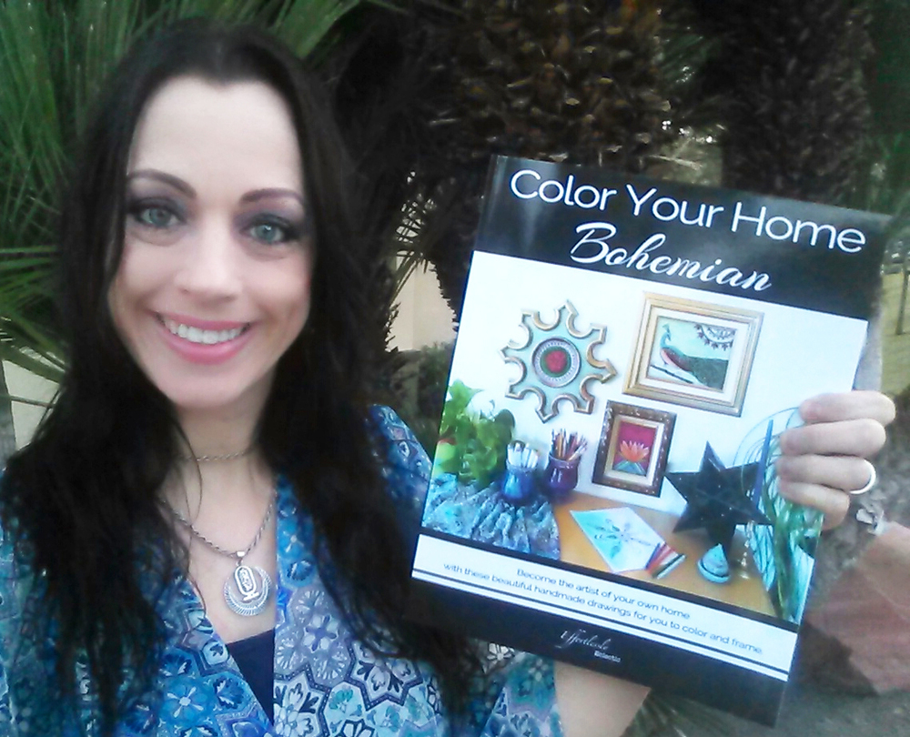 Stacey Taylor - Color Your Home Bohemian - Effortlessly Eclectic