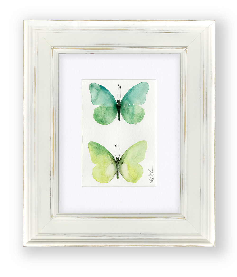 butterfly watercolor art - Kathy Morton Stanion