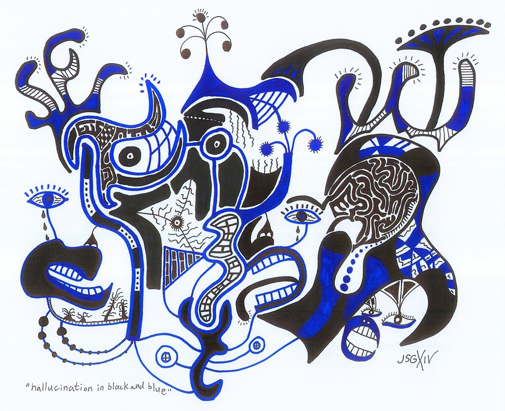 Hallucination - Jon Salvador Gascon Art