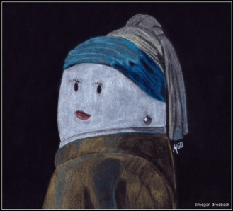 Pearl Earring - Mallows - Megan Dresback