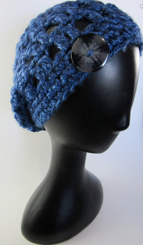 Blue Knitted Hat - Knight Rowen Designs