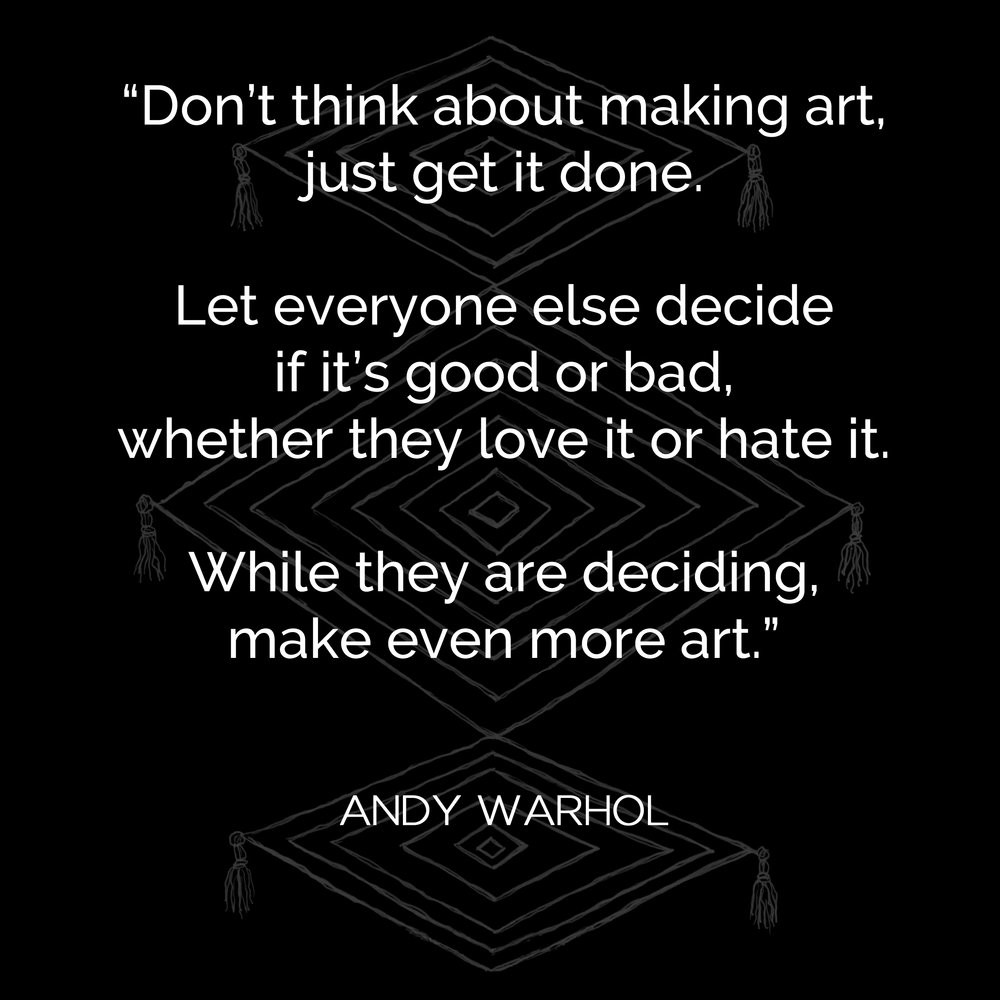 Andy Warhol on Creativity