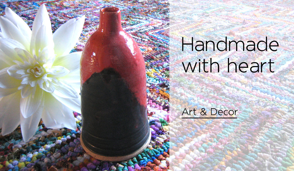 Handmade art and home decor by Stacey Taylor of Effortlessly Eclectic