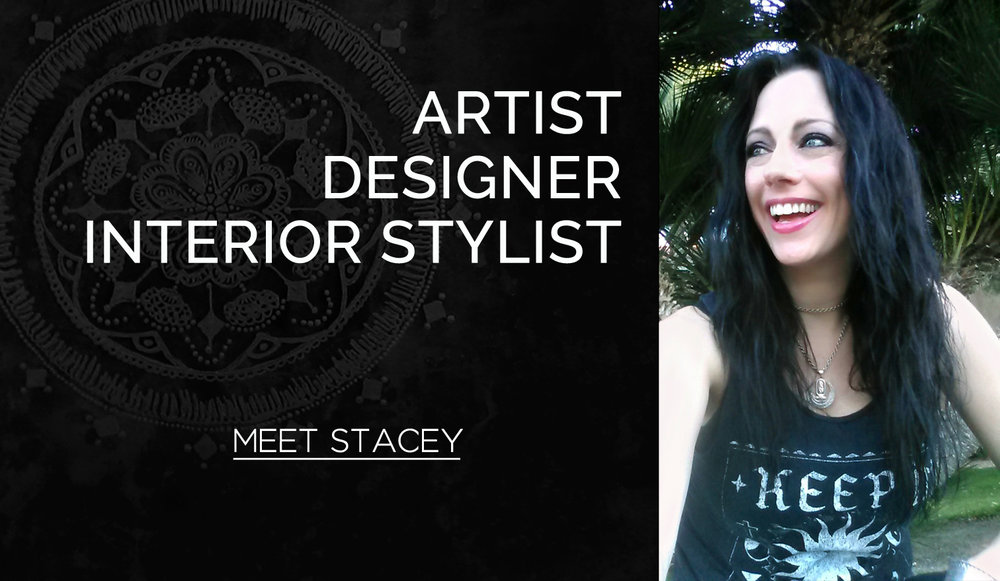 Artist, Designer and Interior Stylist Stacey Taylor of Effortlessly Eclectic