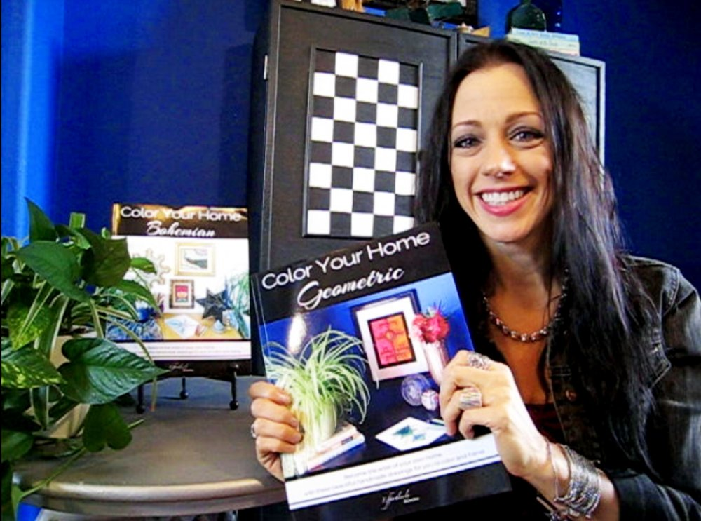 Stacey Taylor - Color Your Home Geometric - Effortlessly Eclectic