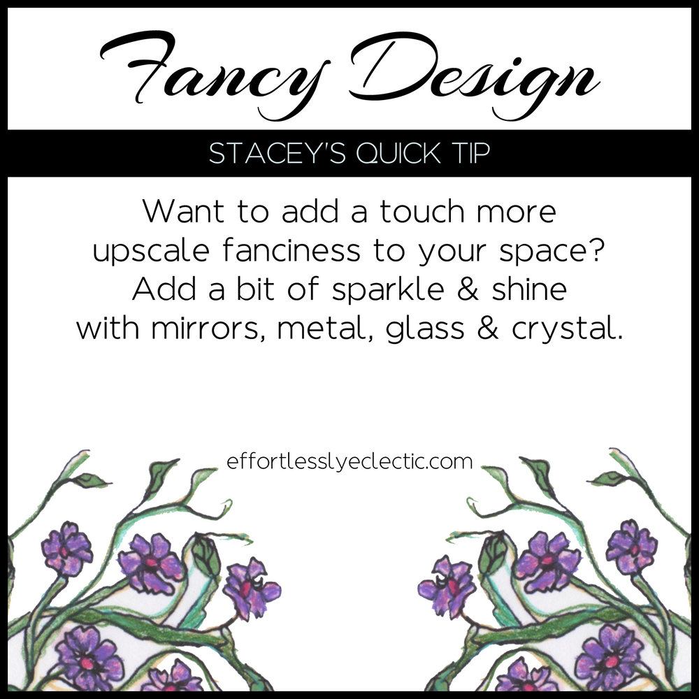 Fancy Design - A home decorating tip about making your home look more upscale