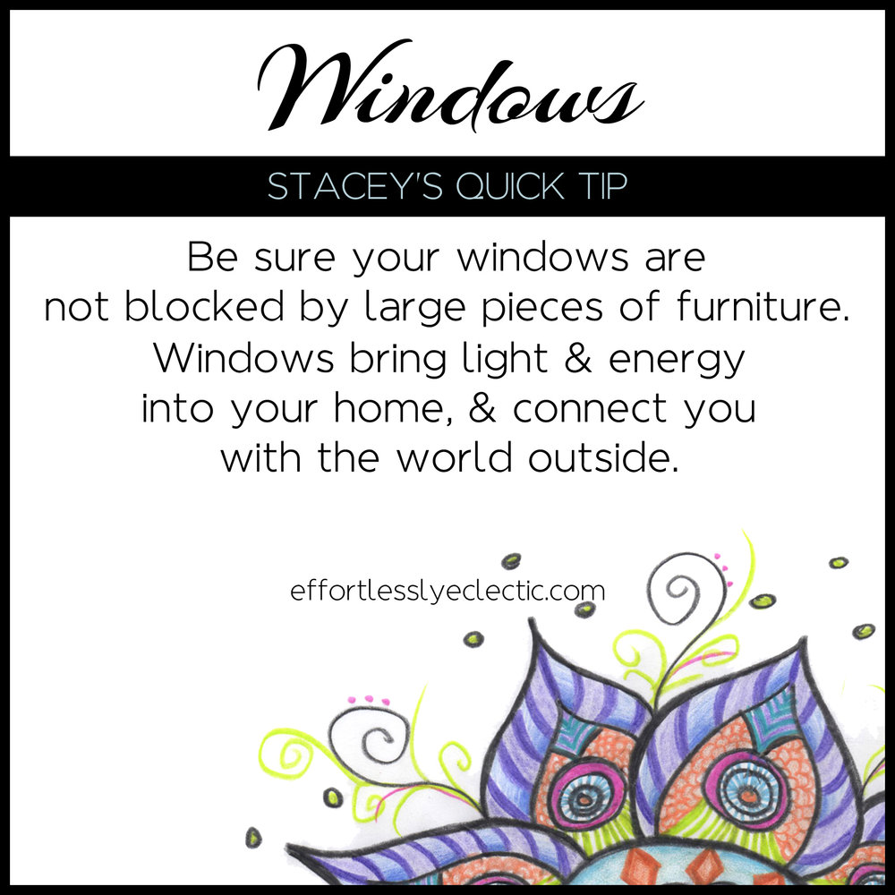 Windows - A home decor tip about windows in your home