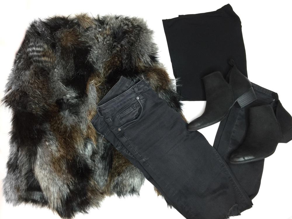 Faux Fur #OOTD