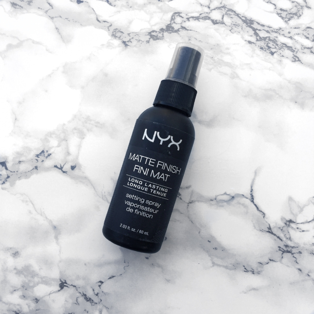NYX Matte Finish Setting Spray - Mattify Your Makeup