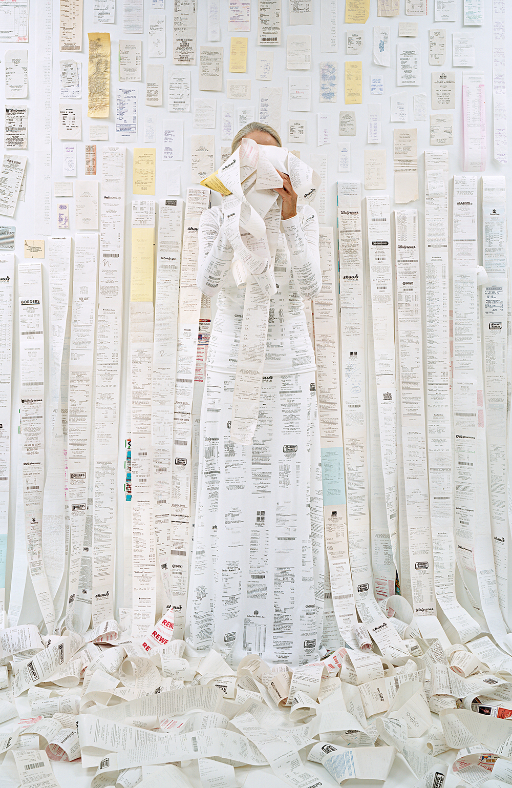 Lost in my Life (receipts), 2011