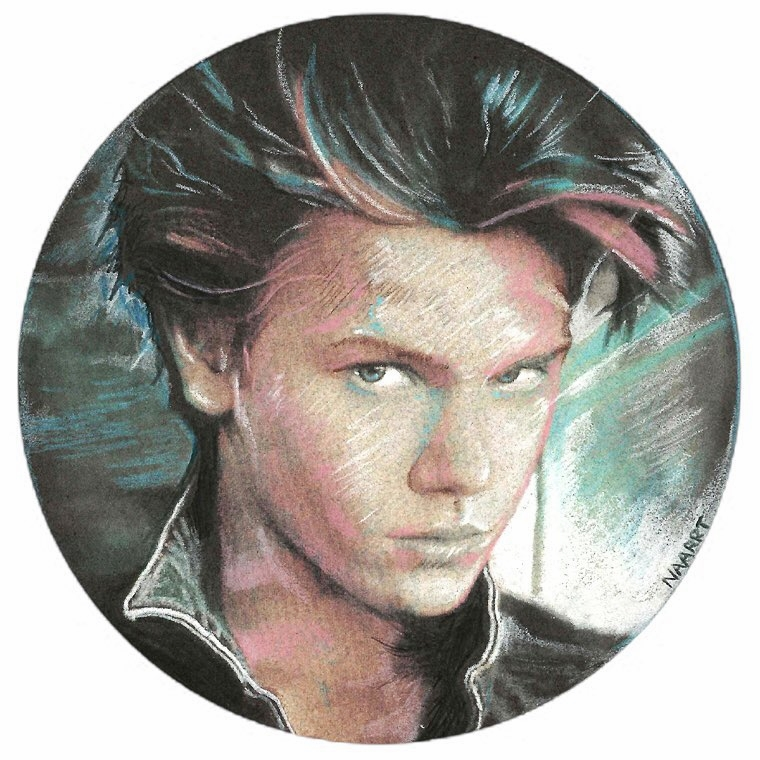 """Tribute: River Phoenix"" by Nathan Anderson (NAARRT)"