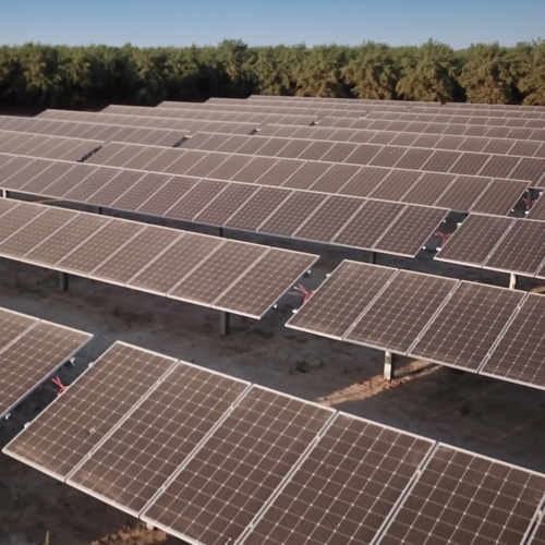 New Solar Crops Tracking the Central Valley's Sun - FEATURE STORYThe Sunfolding T29 horizontal single-axis tracker feeds energy to critical agricultural infrastructure for a dozen different farm sites…
